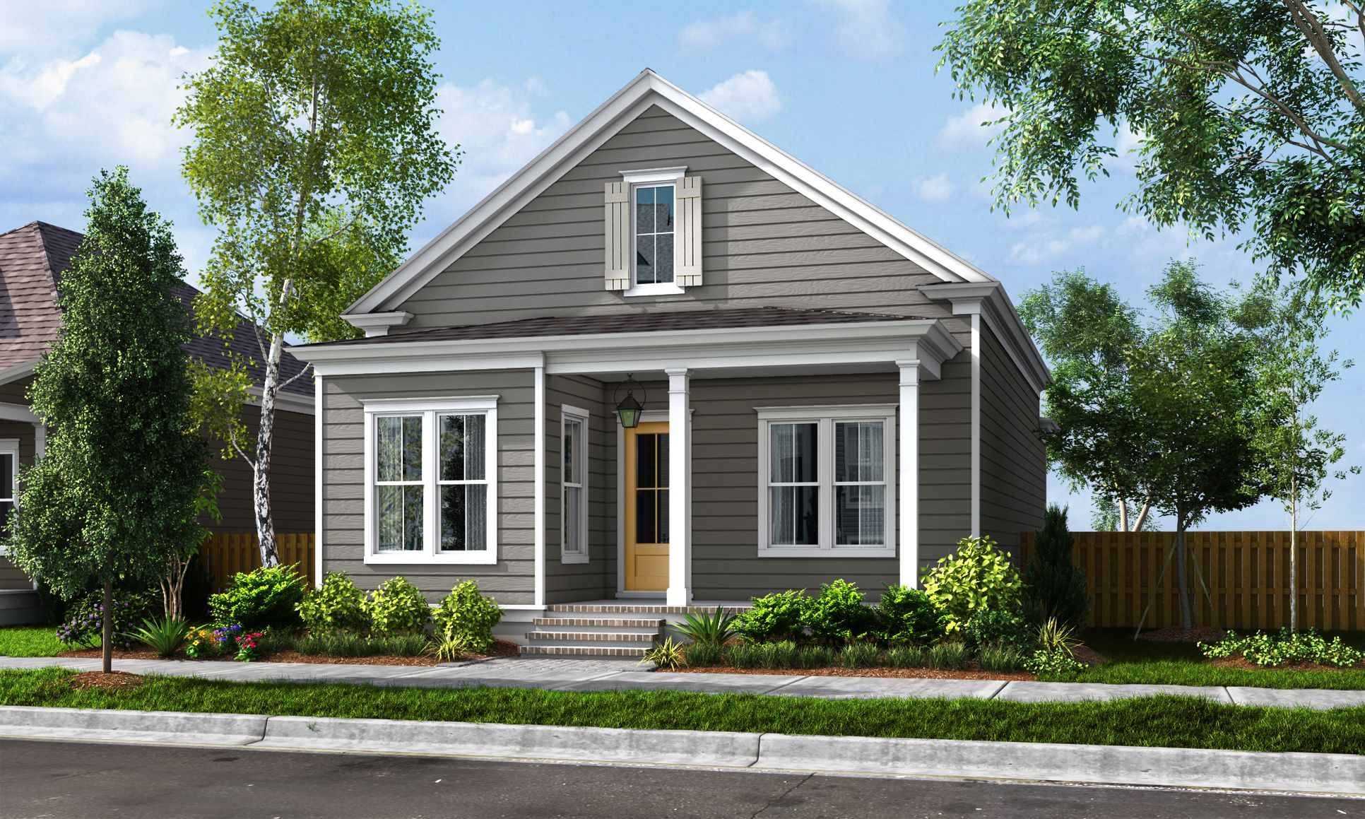 Exterior:ELEVATION A (Available at River Chase)
