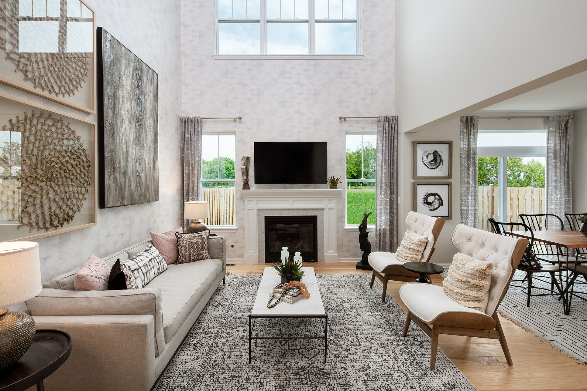 LexTrace Living Room:Open space