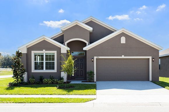 The Estero by LGI Homes:This home features striking curb appeal