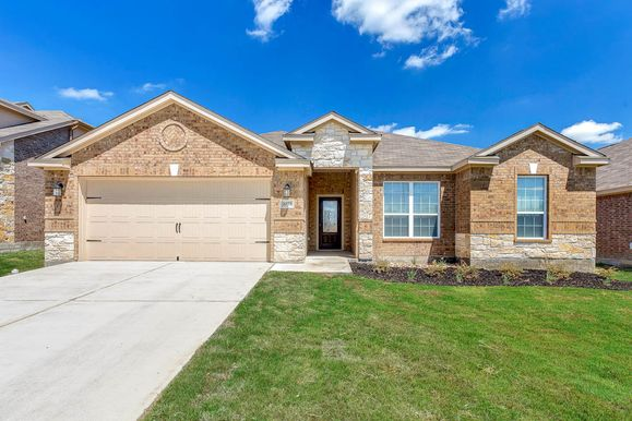 The Leland by LGI Homes at Bunton Creek:Discover luxury living at an affordable price - visit Bunton Creek and ask about this AMAZING one story!