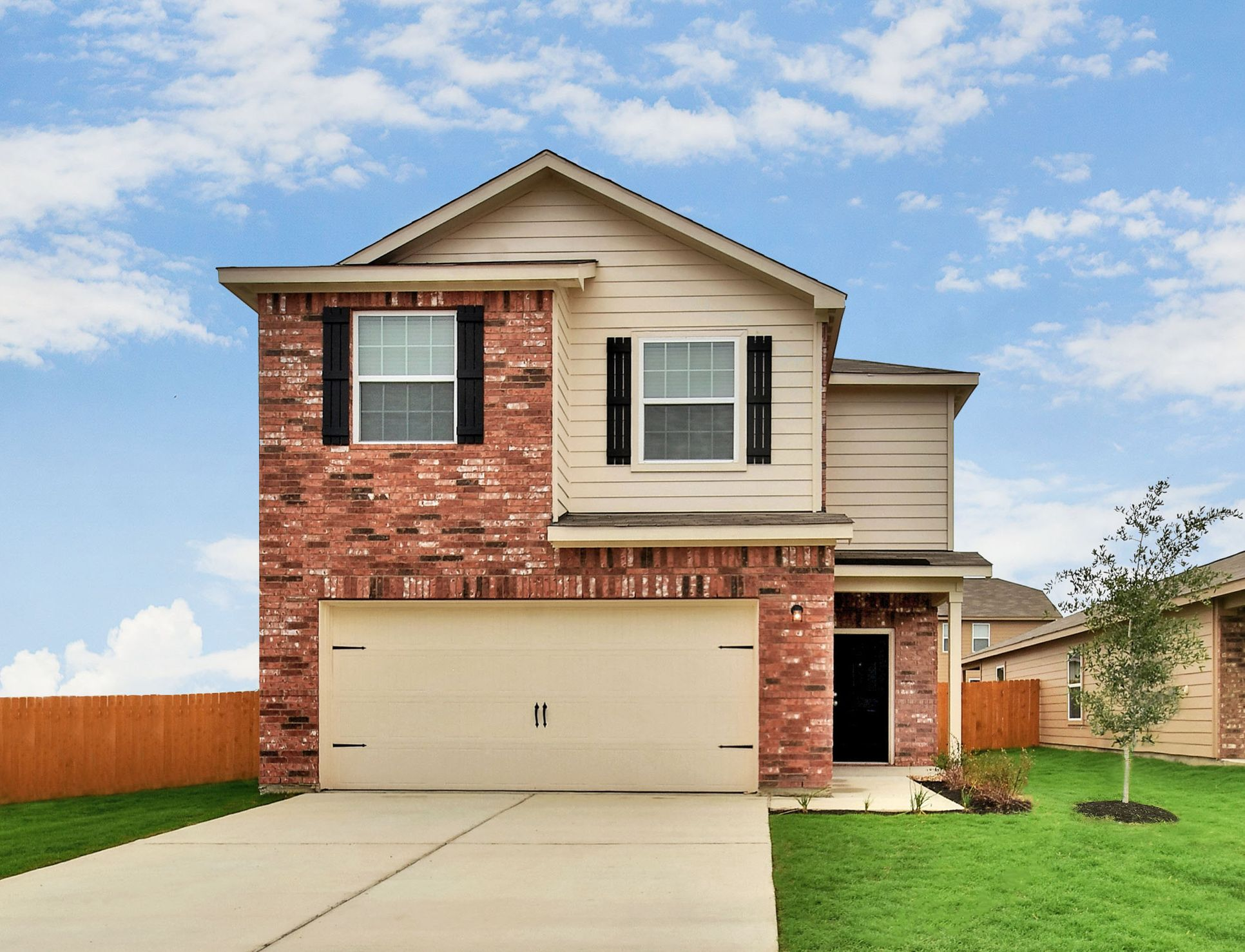 The Mesquite by LGI Homes:Perfect Two-Story Home in a BEAUTIFUL neighborhood.  Tour the Mesquite at Bunton Creek today!
