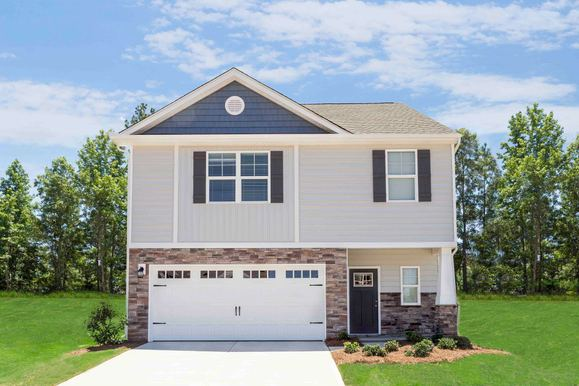 The Fripp by LGI Homes:4 bed/2.5 bath two-story available at Pecan Ridge