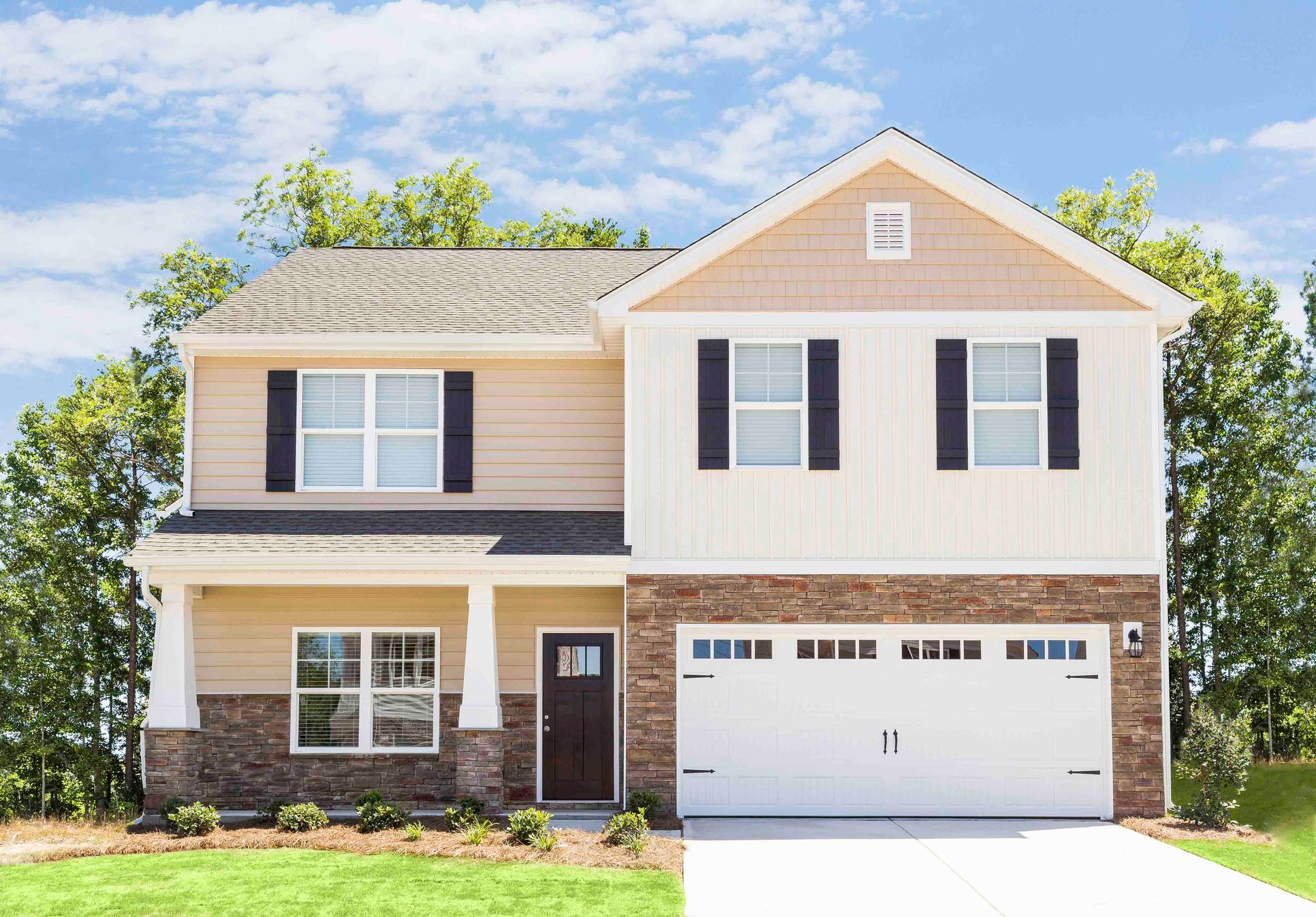 The Georgetown:5 bed/3 bath home available at Pecan Ridge