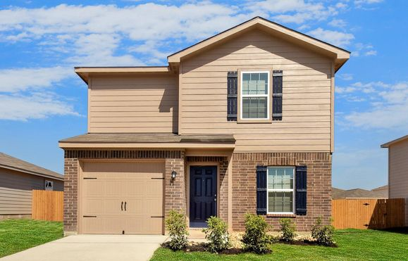 The Beech by LGI Homes:The Beech is a beautiful two-story home.