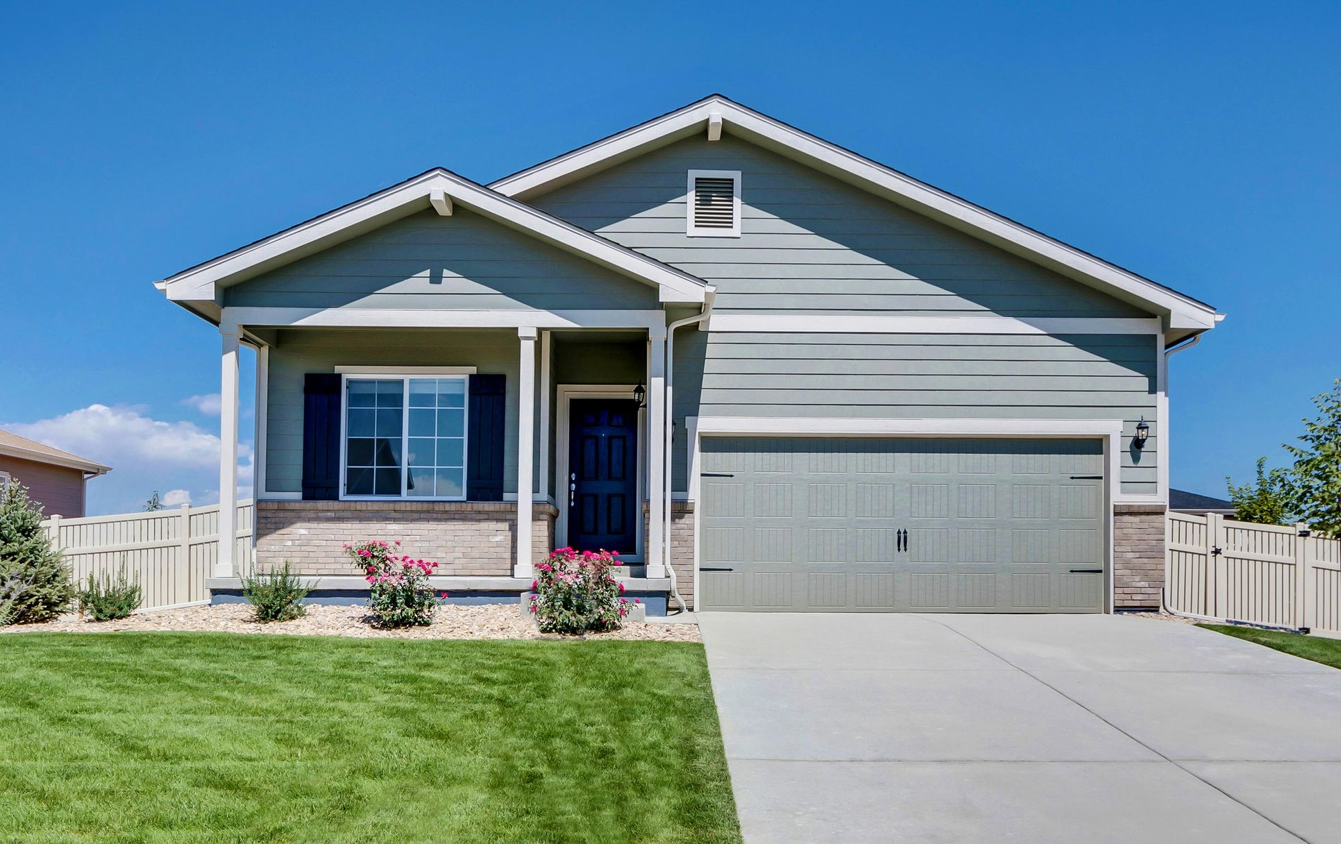 LGI Homes at Bennett Crossing:Single-story are available, as well!