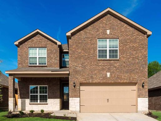 The Tahoe by LGI Homes:Spacious 2-Story, 5 Bedroom Home with Game Room!