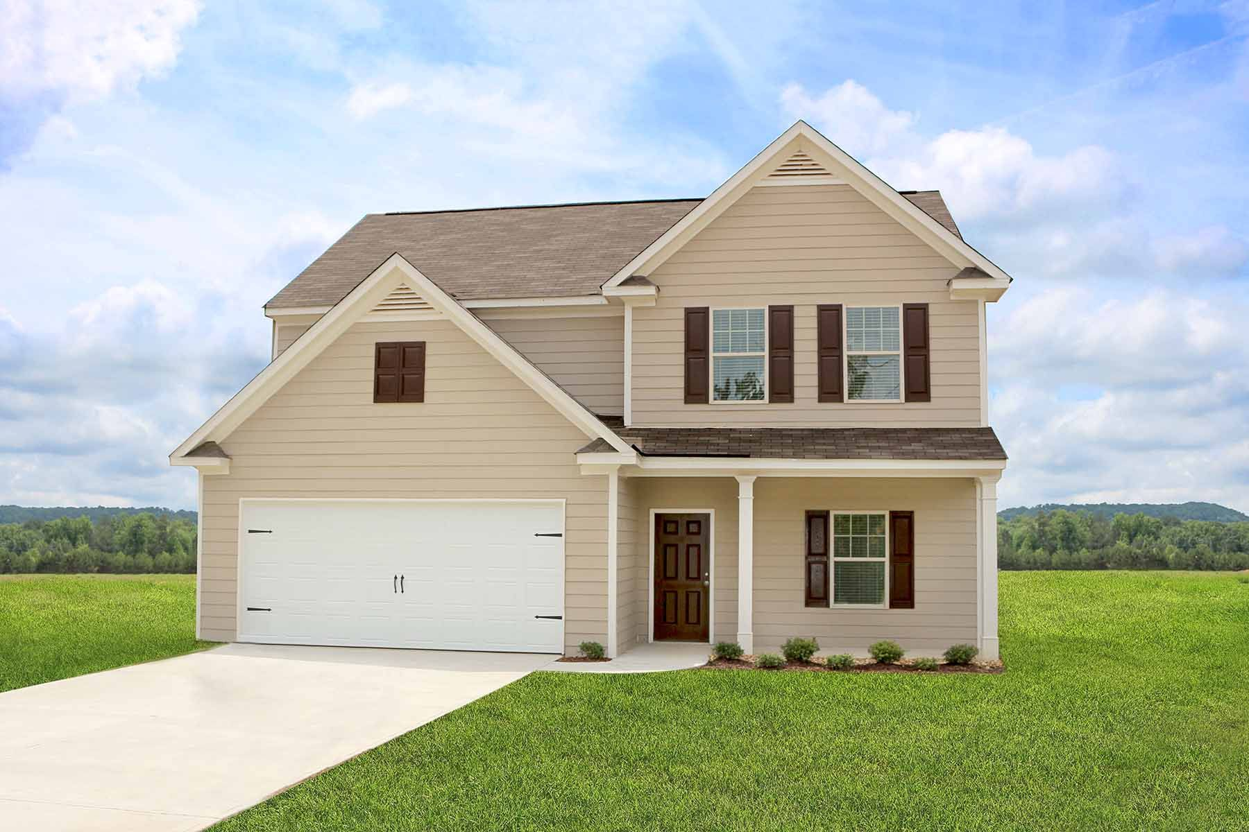 The Chatuge by LGI Homes:Two Story Home with Covered Porch