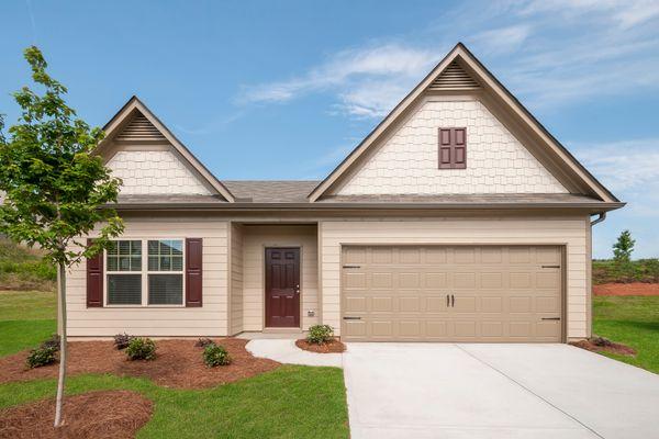 The Allatoona by LGI Homes:Beautiful Home with Covered Front Porch