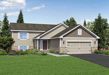 The Boulder Plan by LGI Homes:LGI Homes at Willow Creek