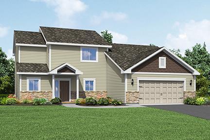 The Rainey plan by LGI Homes:LGI Homes at Willow Creek