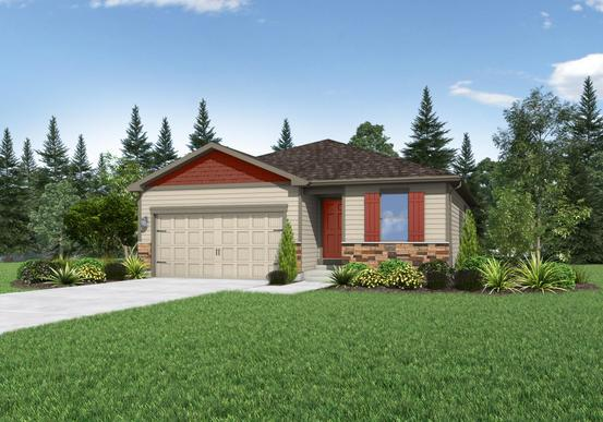 The Shavano by LGI Homes:Great Curb Appeal!