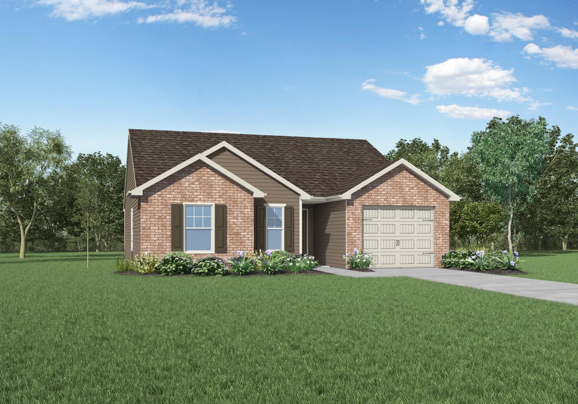 The Alexander by LGI Homes:LGI Homes at Winchester Hills