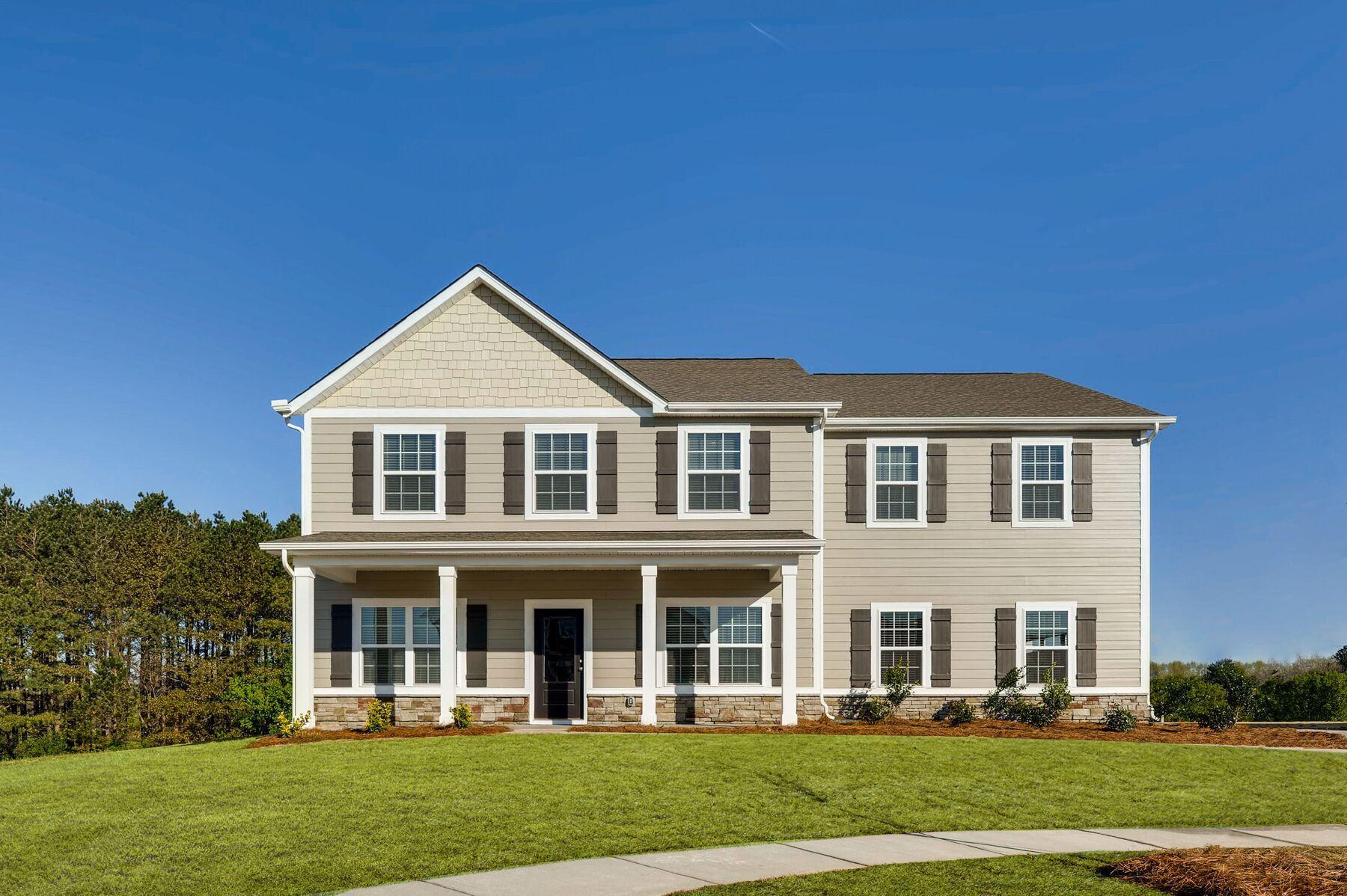 The Sycamore Plan:Gorgeous 5 bed/4 bath home with flex space, loft & guest suite.