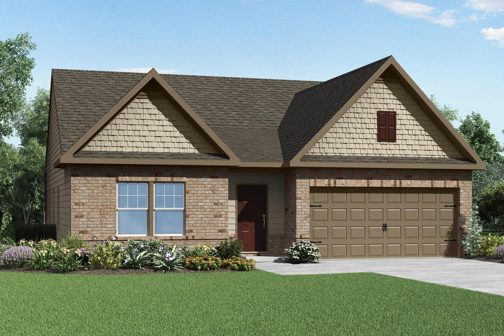 The Allatoona by LGI Homes:Large Master Suite with Walk-in Closet!