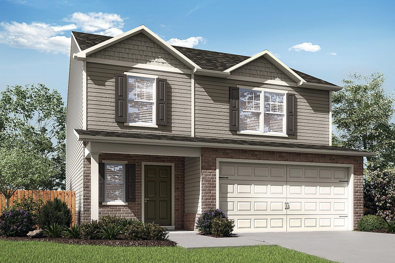 The Camden by LGI Homes:Open Kitchen and Large Living Room!
