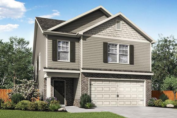 LGI Homes at Augusta Woods:Large 4-Bedroom Home with Great Curb Appeal