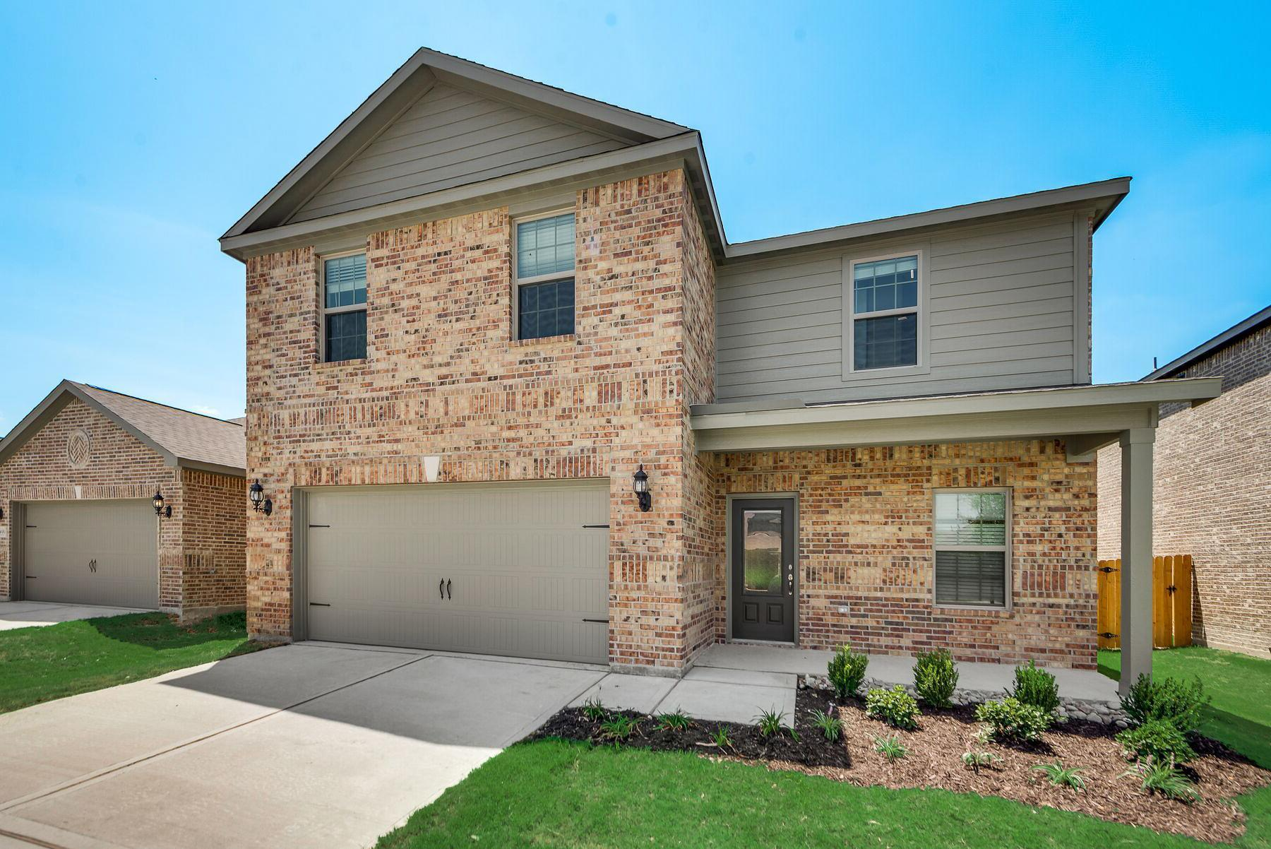 The Higgins Plan by LGI Homes:The Higgins plan features 3 bedrooms, 2.5 baths and a 2-car garage!