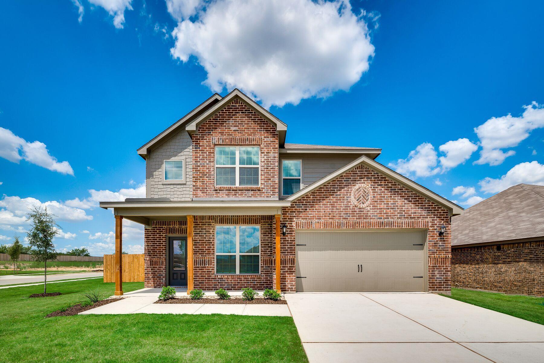 The Superior Plan by LGI Homes:The Superior Plan is a beautiful two-story home located in The Bridges!