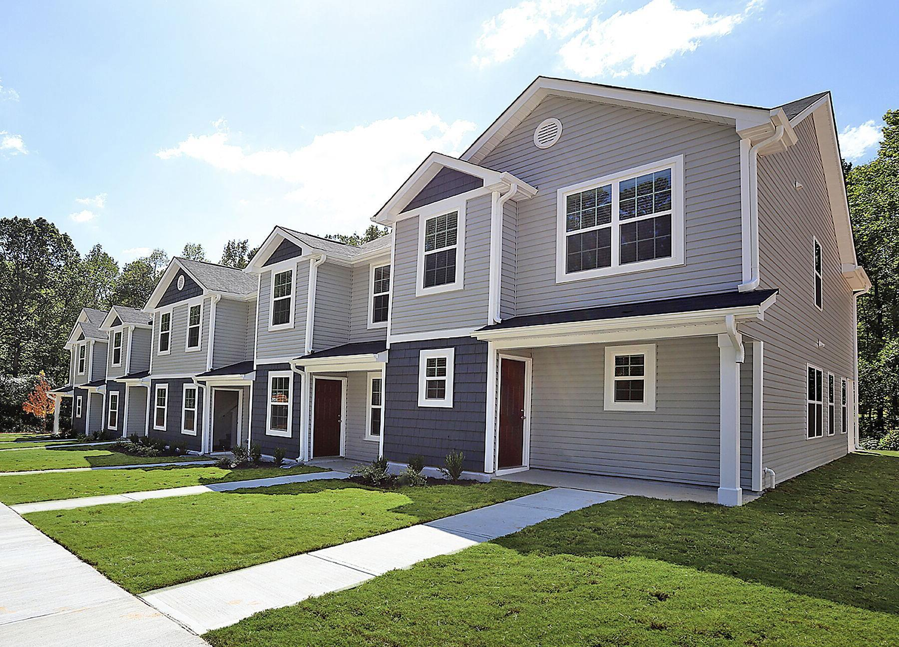 Crawford Townes:Gorgeous townhomes available for quick move-in