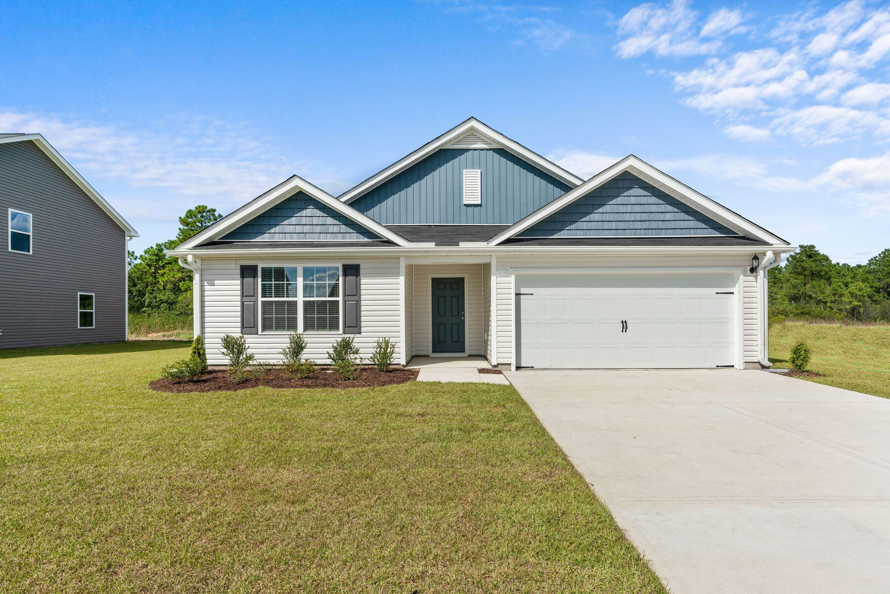 The Burton Plan:This charming home is move-in ready!