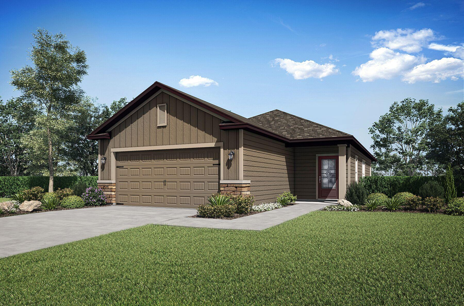 The Alafia by LGI Homes:LGI Homes - Creekside at Twin Creeks