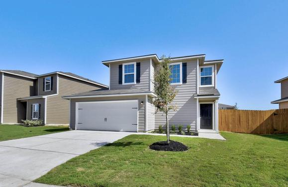 The Ash by LGI Homes:Gorgeous two-story home with 3 bedroms and 2.5 baths!