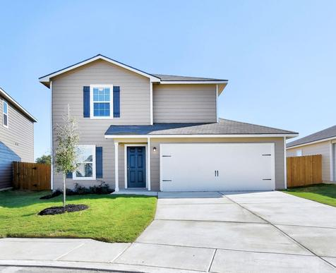 The Beech by LGI Homes:The Beech Plan has incredible curb appeal!