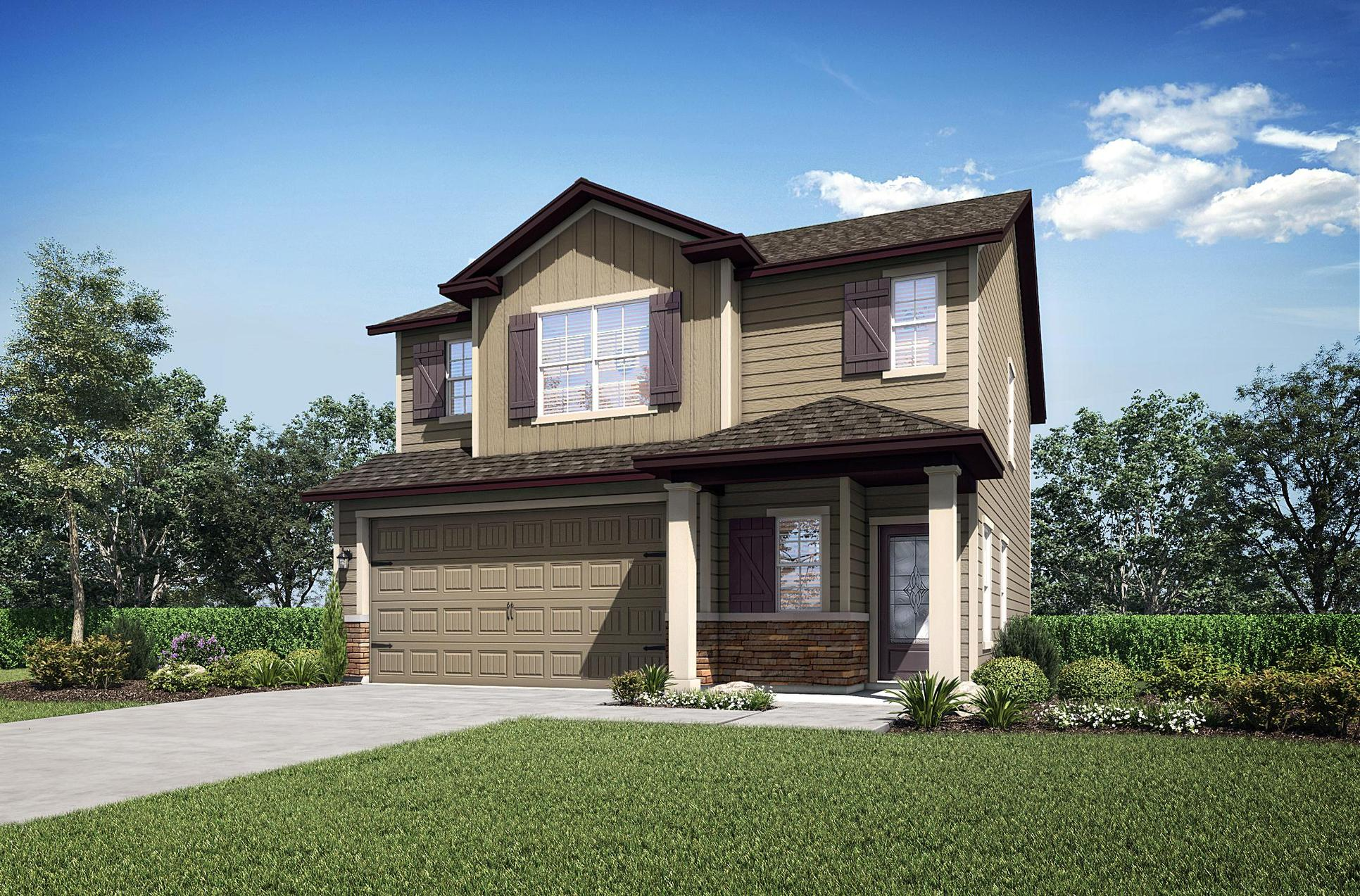 The St. Johns floor plan by LGI Homes:LGI Homes - Creekside at Twin Creeks
