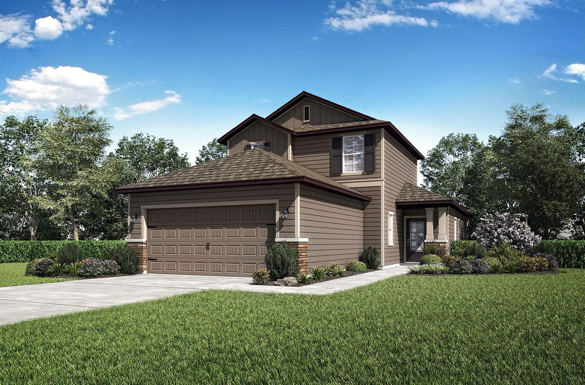 The Tomoka floor plan by LGI Homes:LGI Homes - Creekside at Twin Creeks