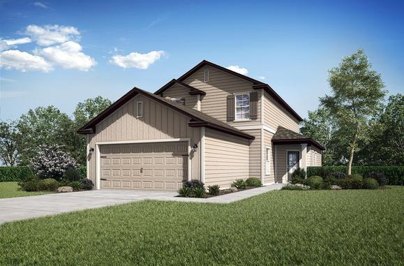 The Wekiva by LGI Homes:LGI Homes - Creekside at Twin Creeks