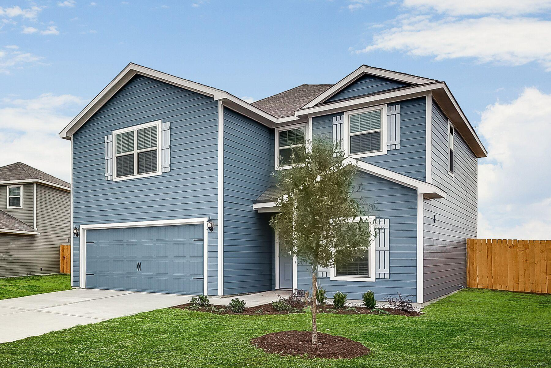 LGI Homes at Patriot Estate:The spacious Dirftwood plan offers 5 bedrooms and 2.5 baths!
