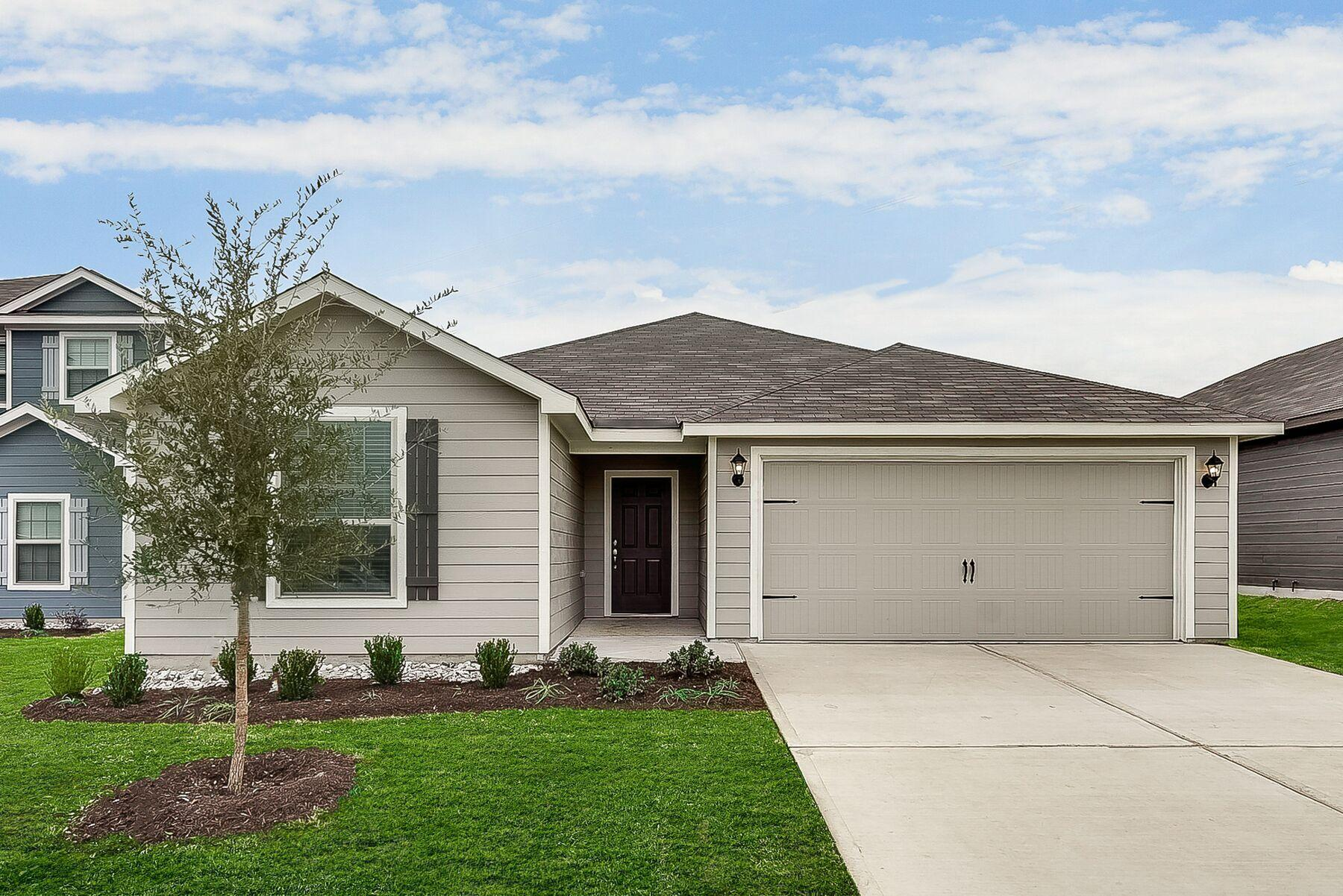 The Sabine by LGI Homes:The Sabine plan is now available at Patriot Estates!
