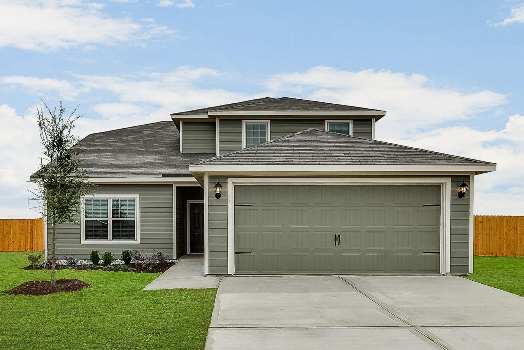 The Cypress by LGI Homes:The Cypress has 4 bedrooms, 2.5 baths, and a two-car garage!