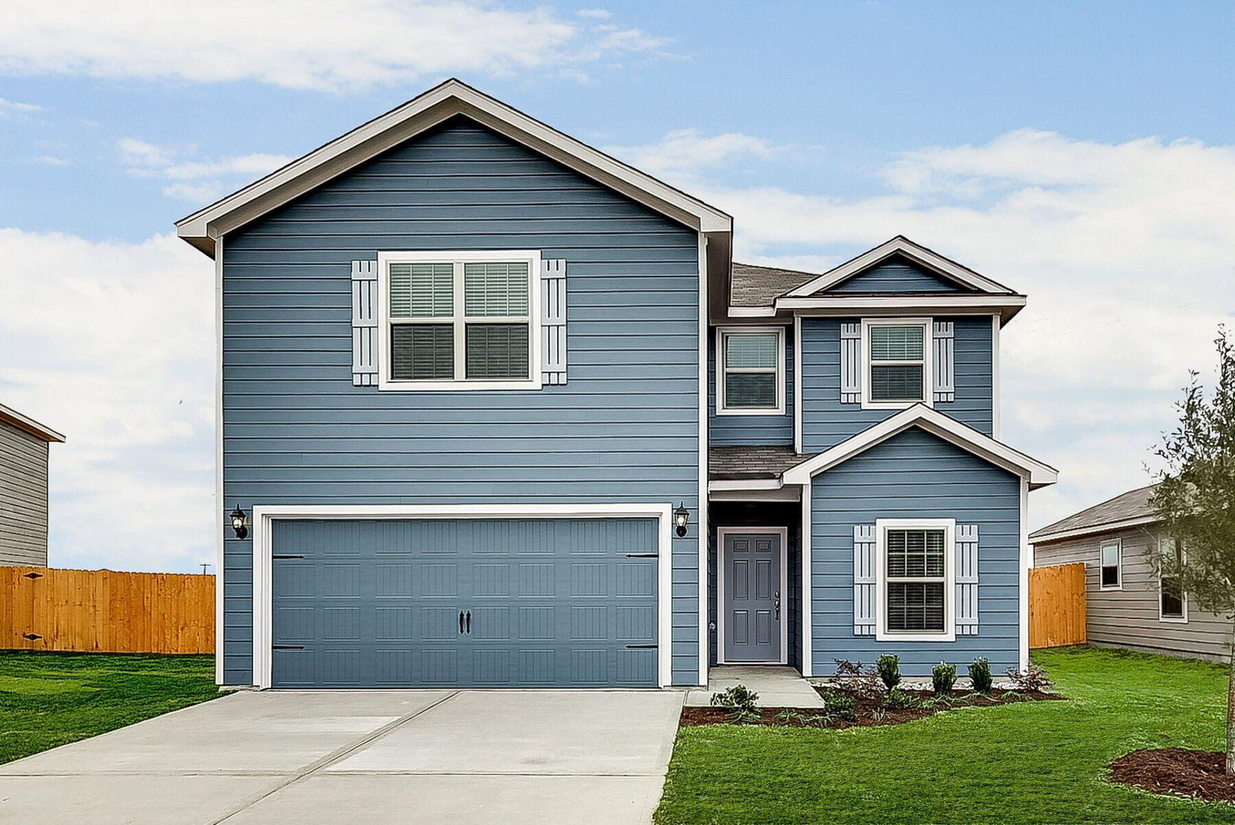 The Driftwood by LGI Homes:The Driftwood plan at Patriot Estates.