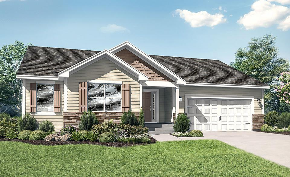 The Pennington by LGI Homes:LGI Homes at Willow Creek