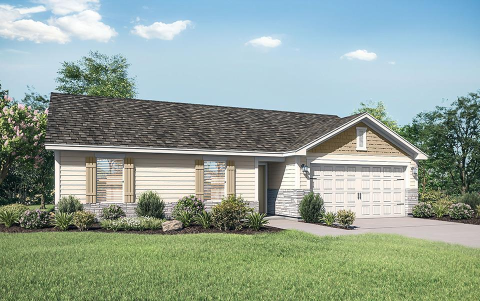 The Aitkin Plan by LGI Homes:LGI Homes at Sanford Select Acres