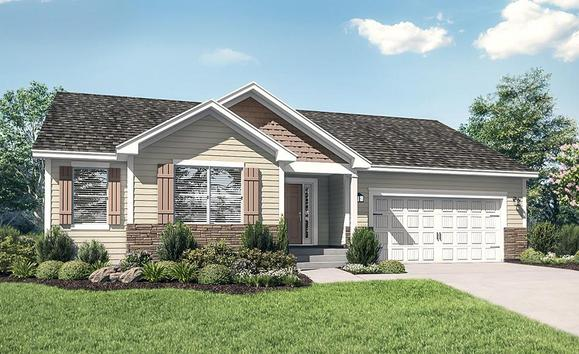 The Pennington Plan by LGI Homes:LGI Homes at Willow Creek
