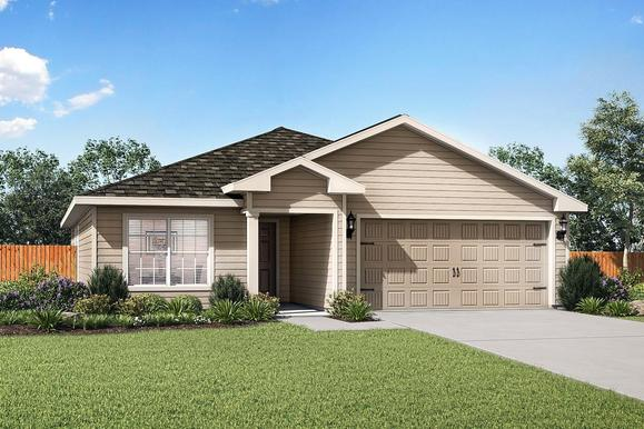 The Blanco by LGI Homes:The charming Blanco plan is now available at Honey Farms!