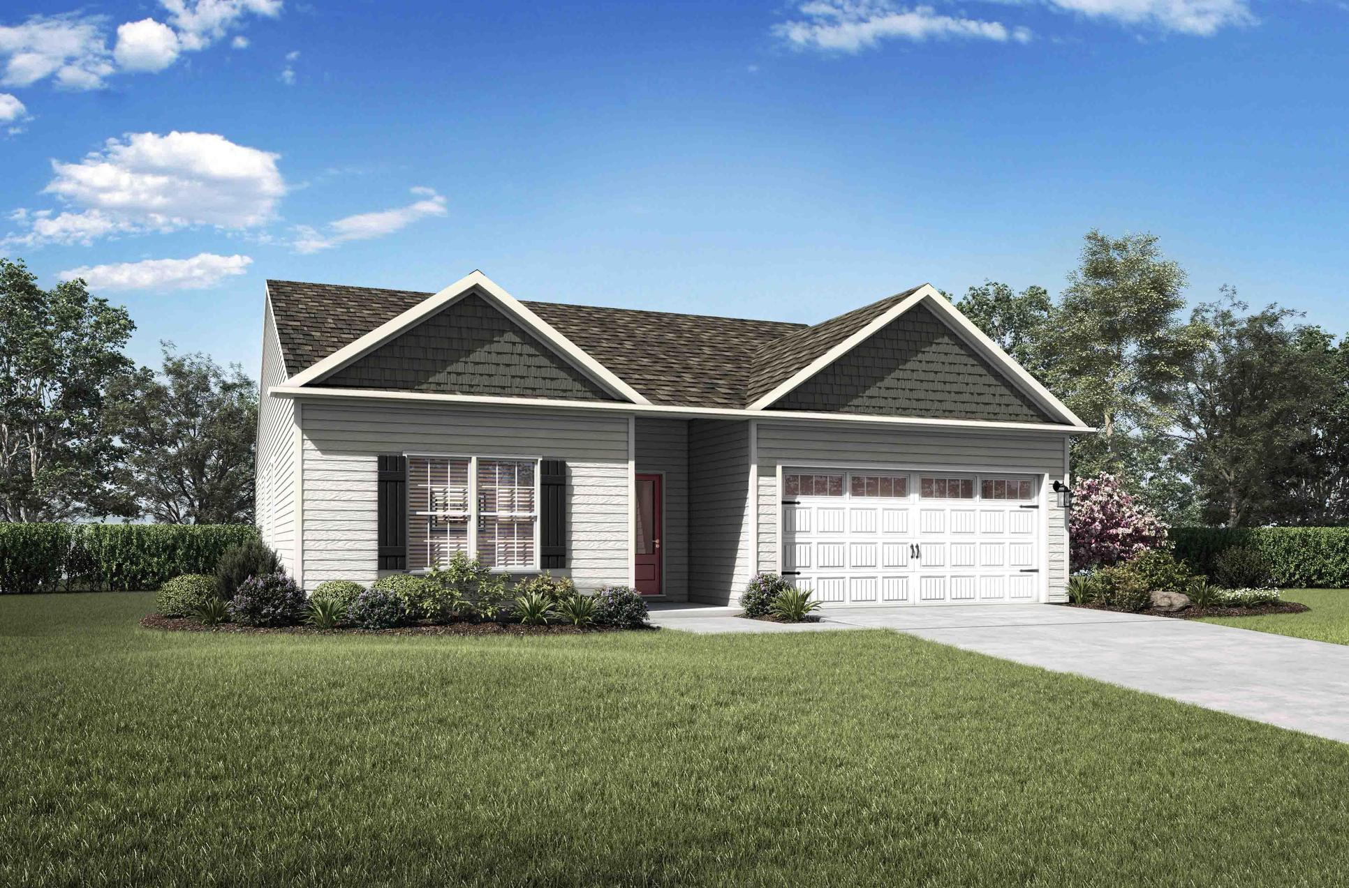 The Burton:Beautiful home loaded with upgrades & move-in ready!
