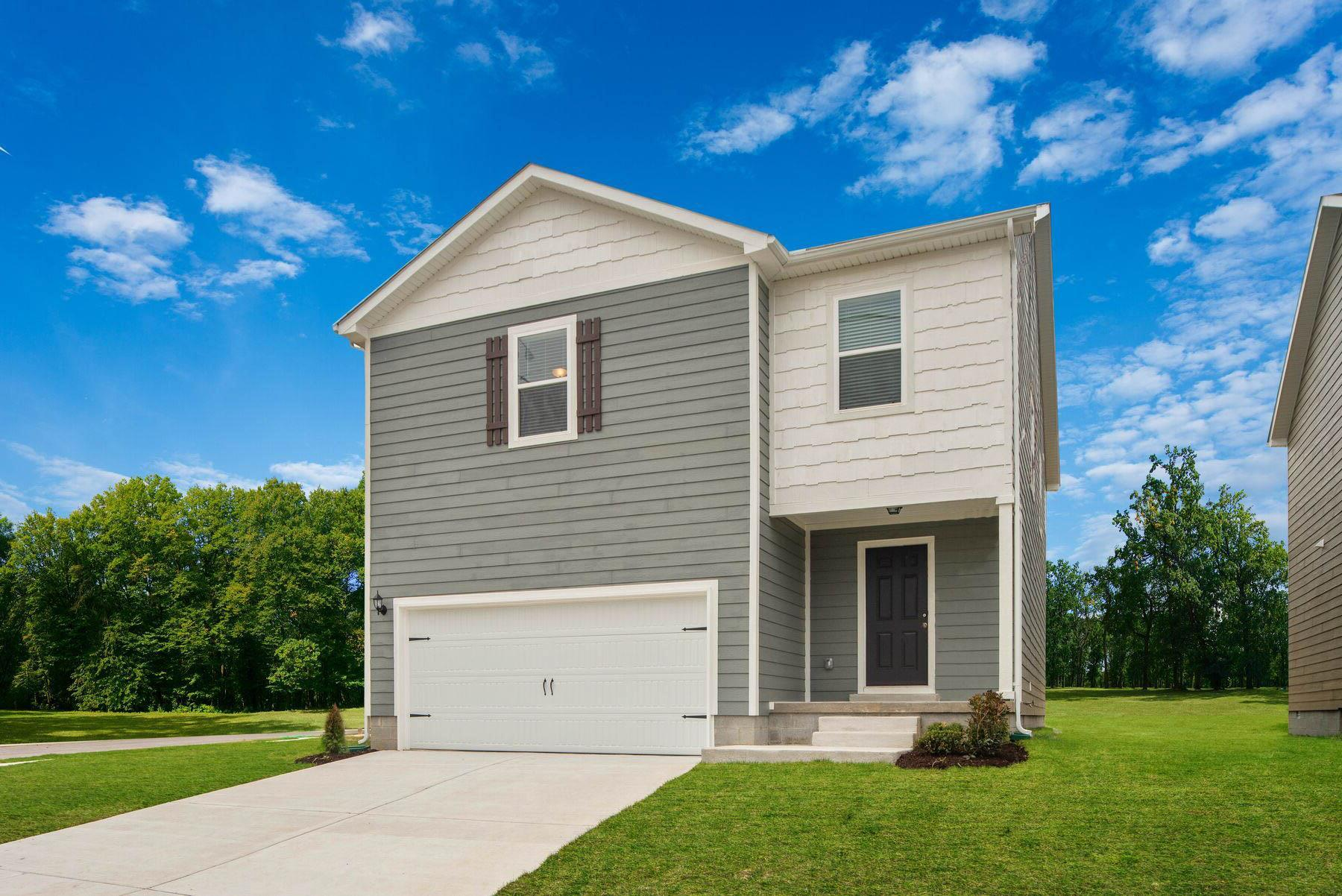 The Old Hickory by LGI Homes:The Old Hickory is a stunning 4-bedroom home in La Vergne!