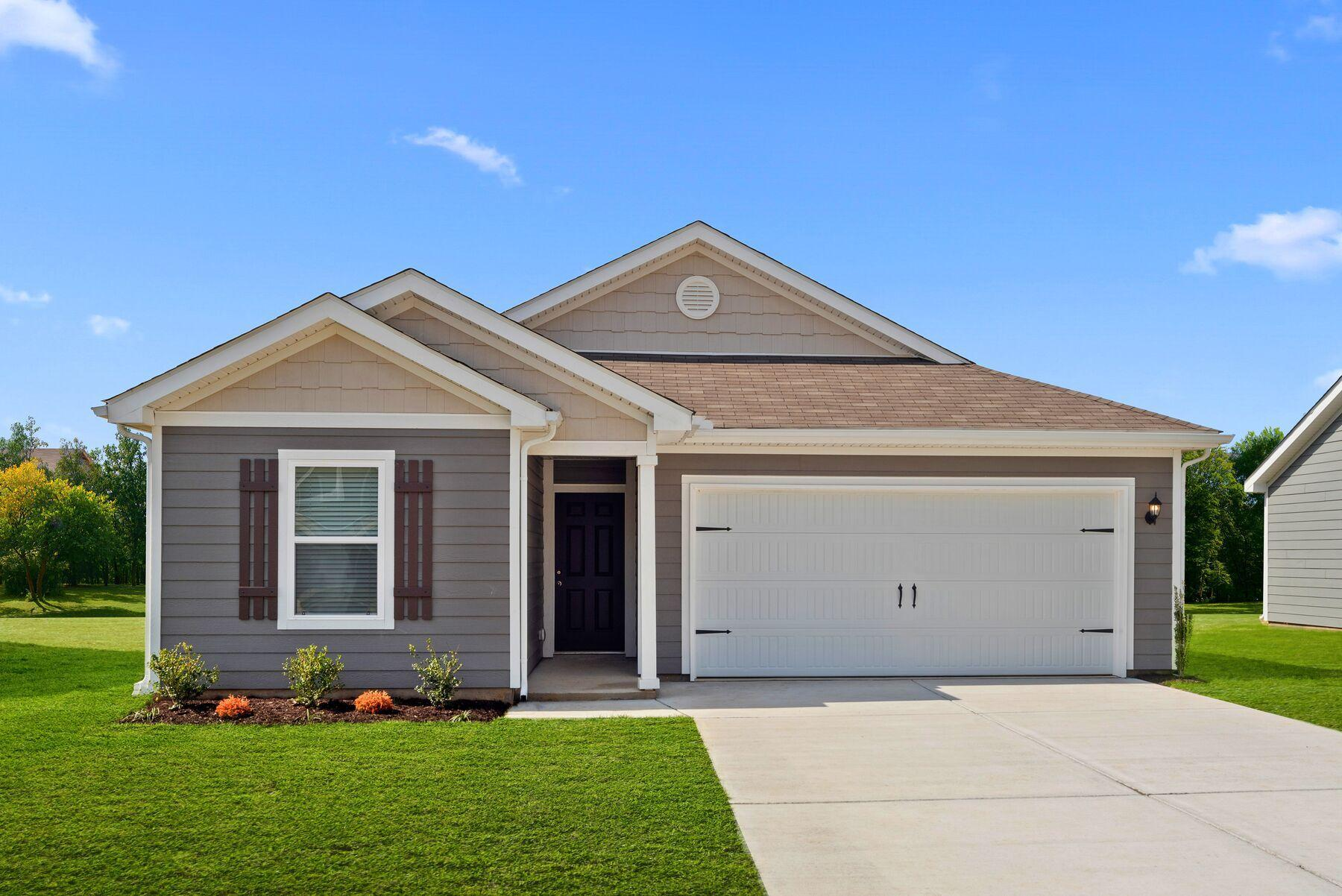 The Clairborne Plan by LGI Homes:Charming 3 bedroom, 2 full bath home!