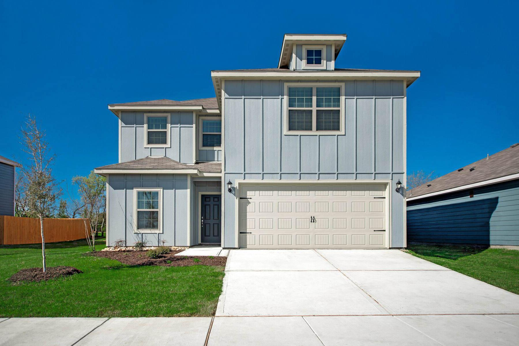 The Driftwood by LGI Homes:The Driftwood is a spacious two-story home within the community of Quarter Horse Estates.