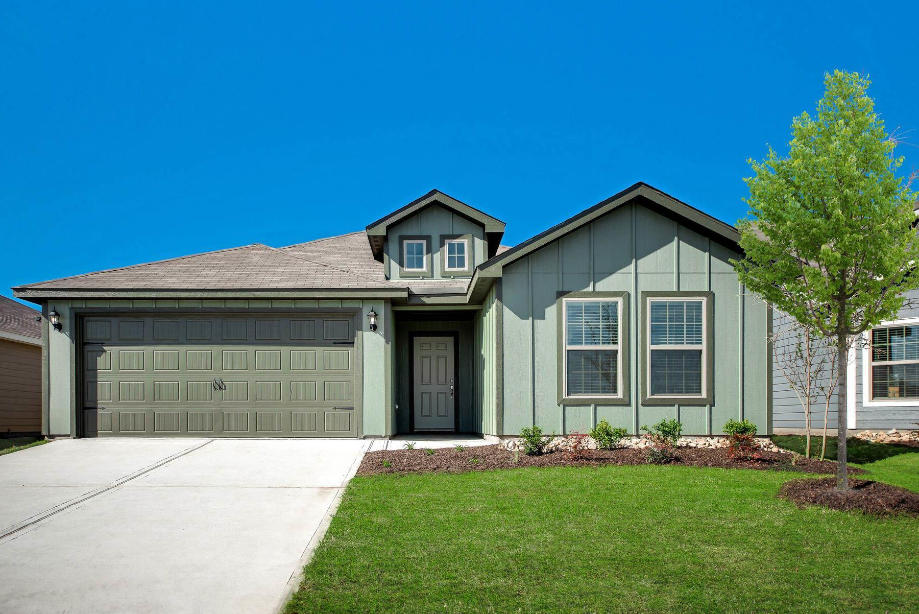 The Sabine by LGI Homes:The Sabine floor plan by LGI Homes.