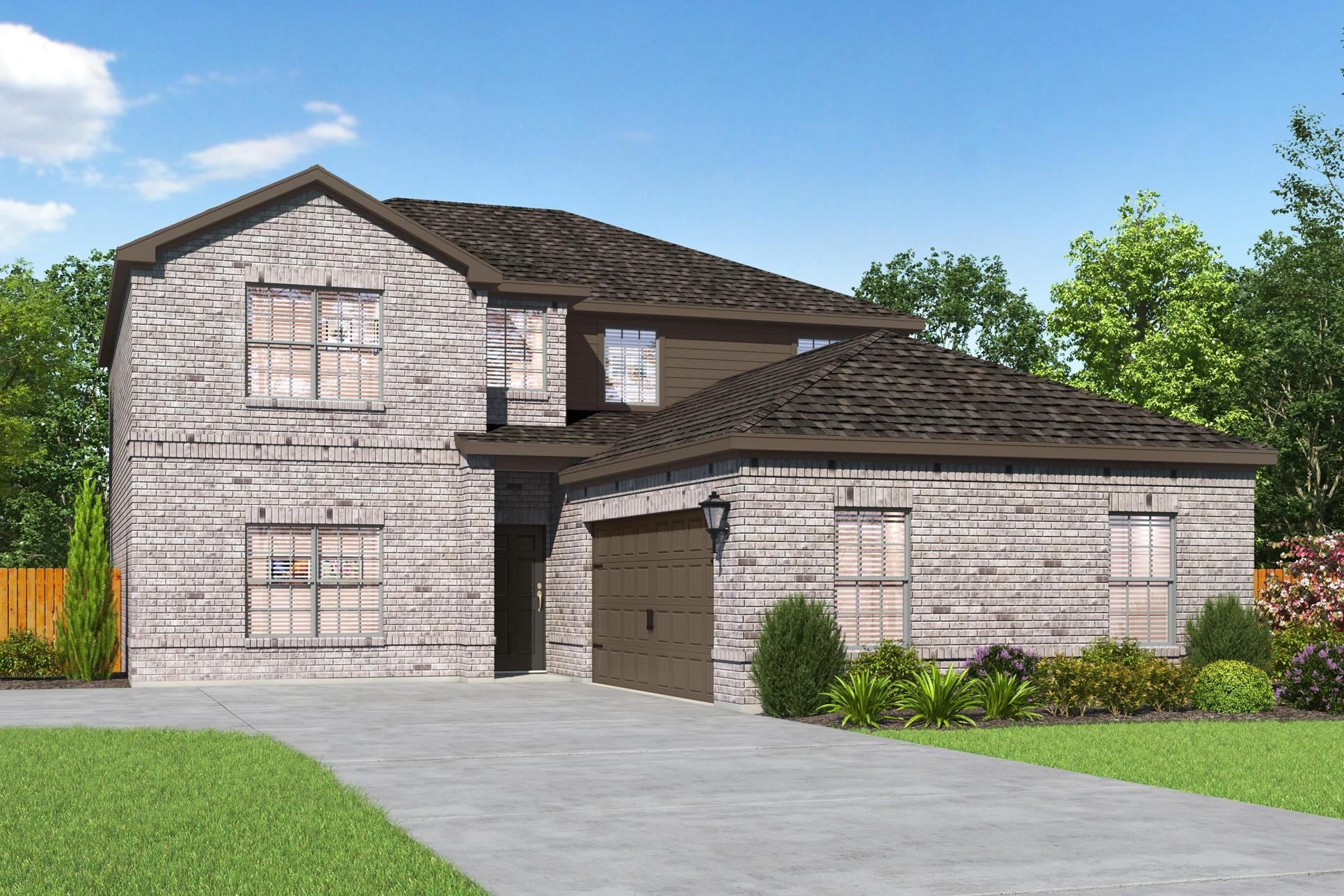The Oakmont Plan by LGI Homes:The stunning Oakmont plan by LGI Homes!