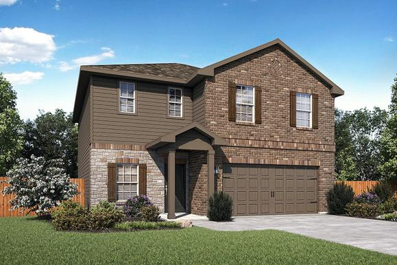 The Shelby Plan by LGI Homes:The stunning Shelby plan is now available at Talise de Culebra!