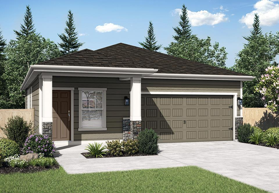 The Aspen B at Riverside Estates:LGI Homes at Riverside Estates offers affordable, move-in ready homes near Portland, OR
