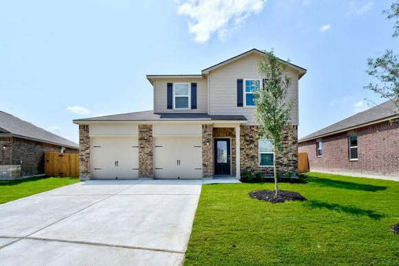 The Brazoria Plan by LGI Homes:The Brazoria plan is available now at Talise de Culebra!