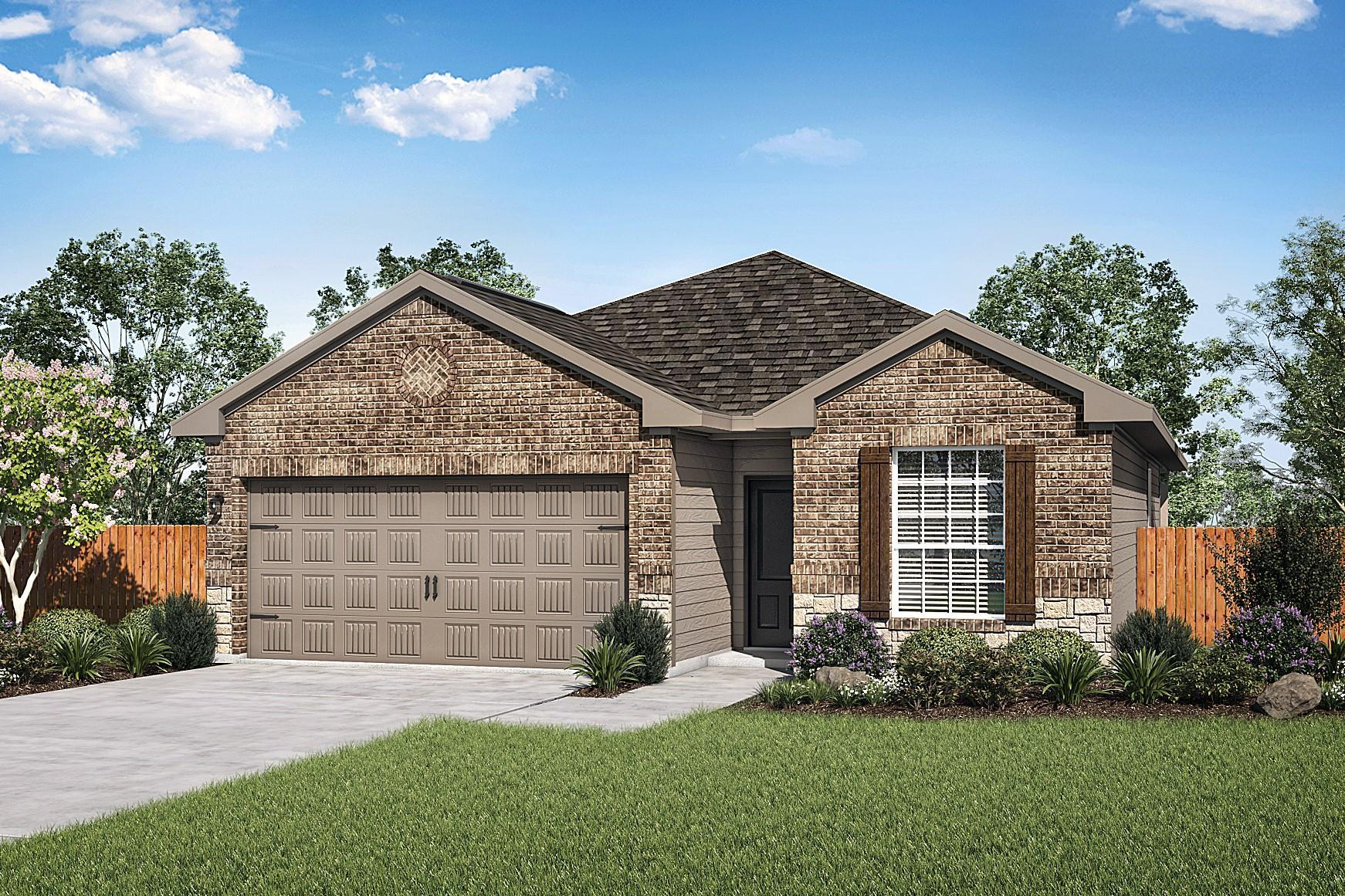 The Fannin Plan by LGI Homes:The charming Fannin plan is available now at Luckey Ranch!