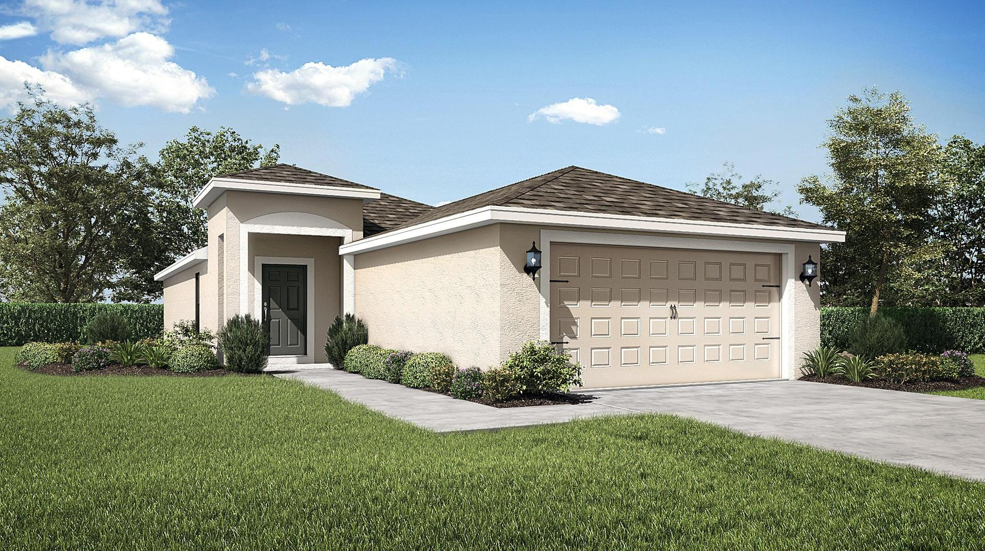 The Bahia by LGI Homes:Loaded with curb appeal, the Bahia at Kensington View offers an abundance of high-value upgrades