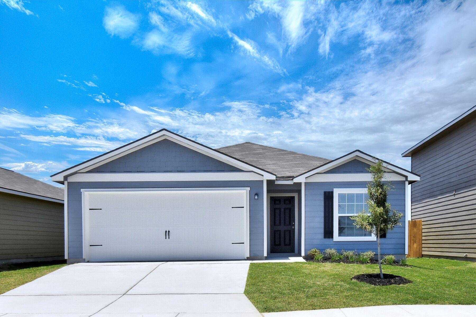 The Maple by LGI Homes:The Maple plan has 3 bedrooms, 2 full baths, and a 2-car garage!